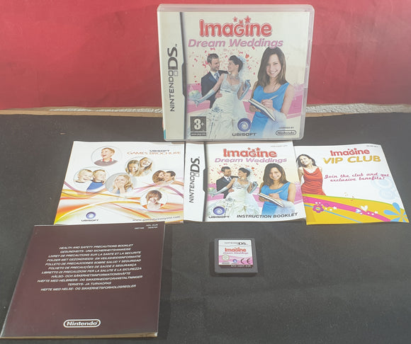Imagine Dream Weddings Nintendo DS Game