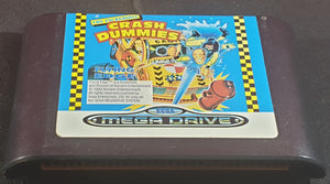 The Incredible Crash Dummies Cartridge Only Sega Mega Drive Game