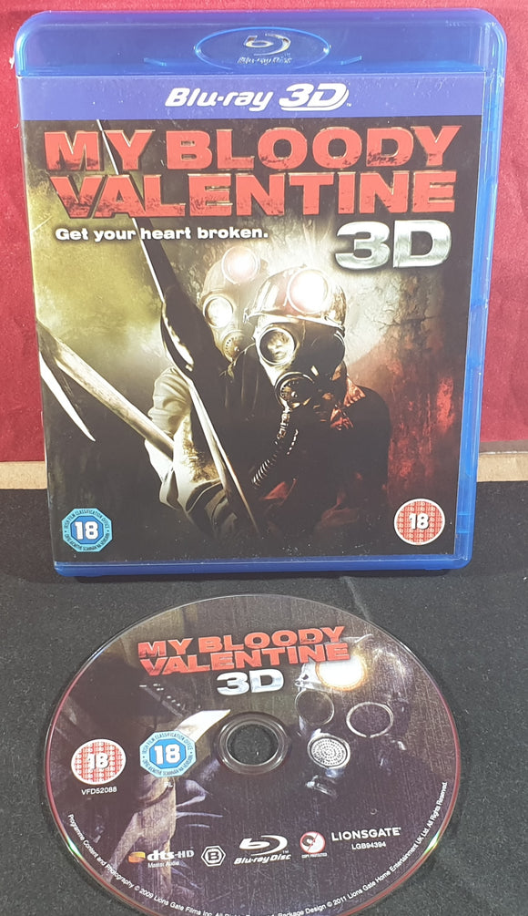 My Bloody Valentine 3D Blu Ray DVD