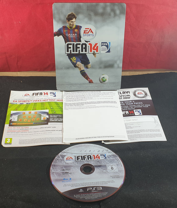 FIFA 14 in RARE Steel Case Sony Playstation 3 (PS3) Game