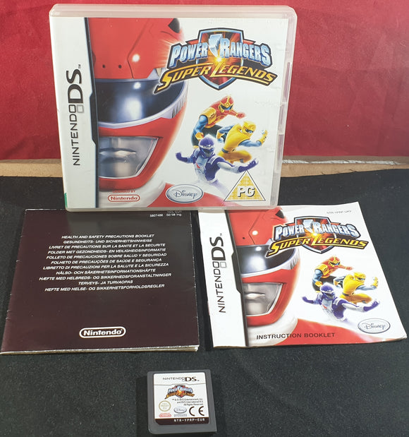 Power Rangers Super Legends Nintendo DS Game