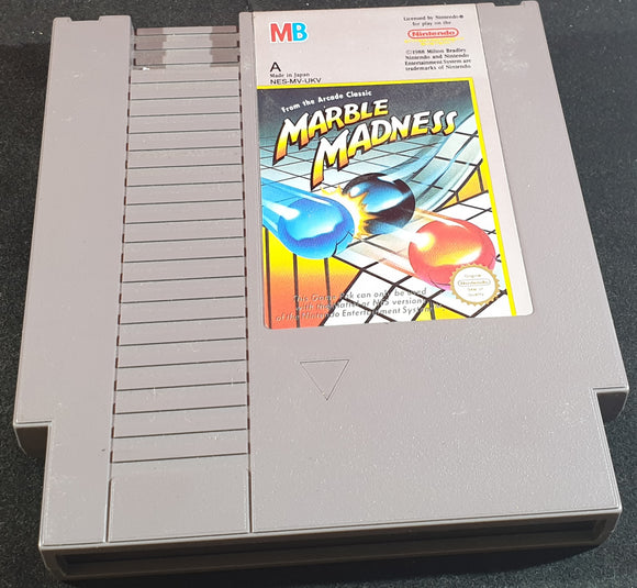 Marble Madness Cartridge Only Nintendo Entertainment System (NES) Game