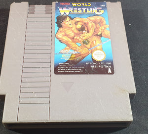 Tecmo World Wrestling Cartridge Only Nintendo Entertainment System (NES) Game