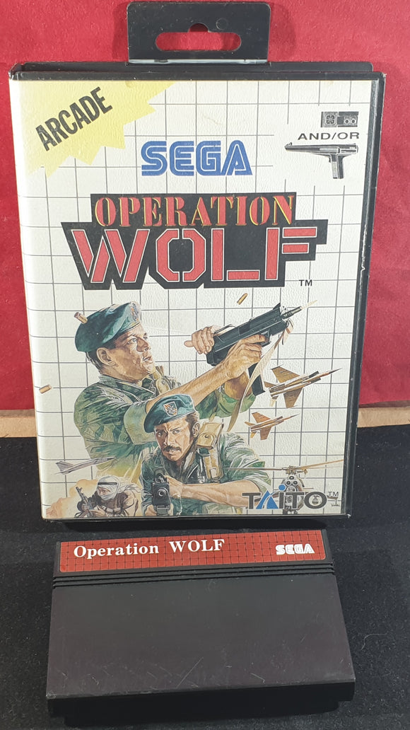 Operation Wolf Sega Master System Game