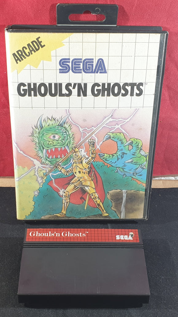 Ghouls 'N Ghosts Sega Master System Game