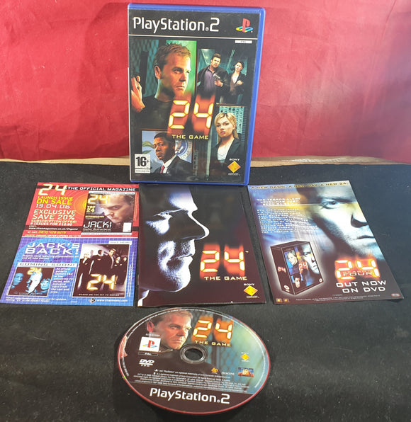 24 The Game Sony Playstation 2 (PS2) Game