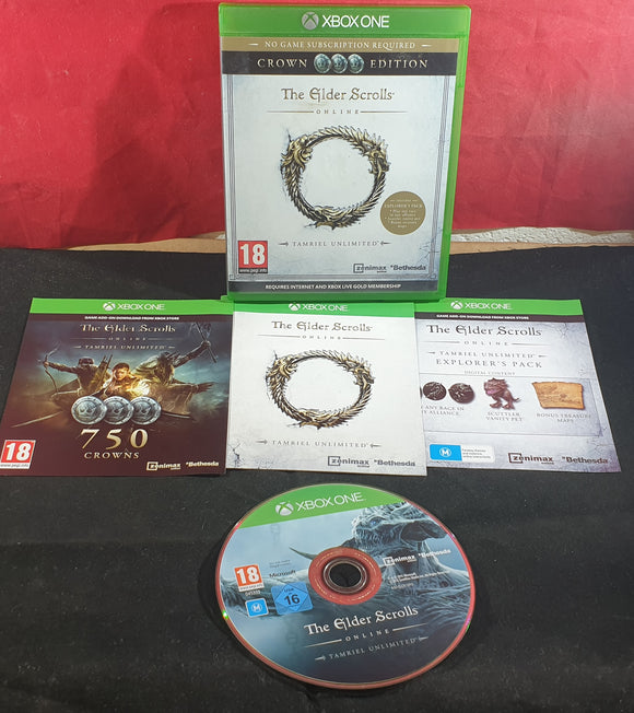 The Elder Scrolls Online Tamriel Unlimited Microsoft Xbox One Game