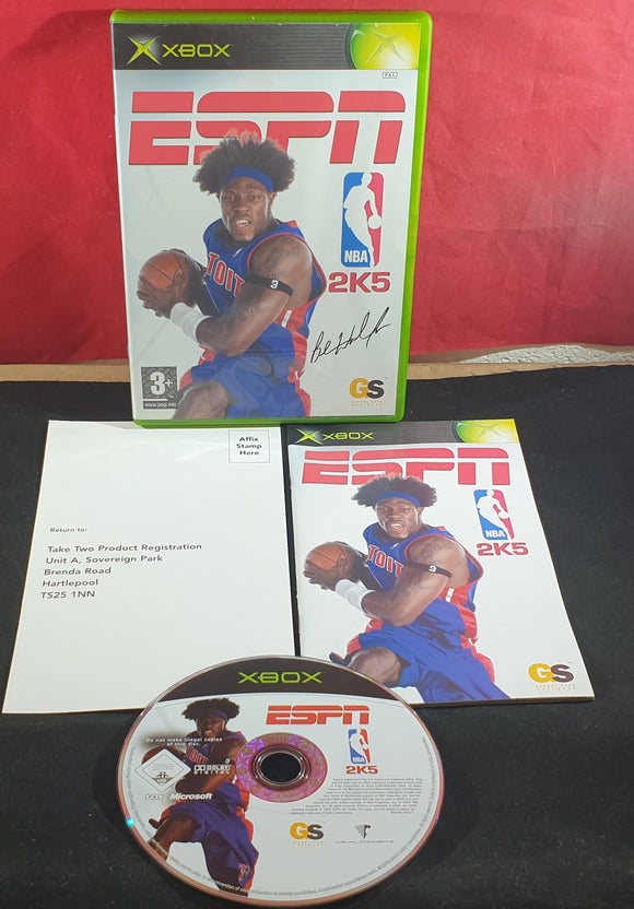 ESPN NBA 2K5 Microsoft Xbox Game
