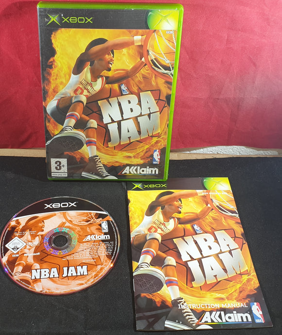 NBA Jam Microsoft Xbox Game