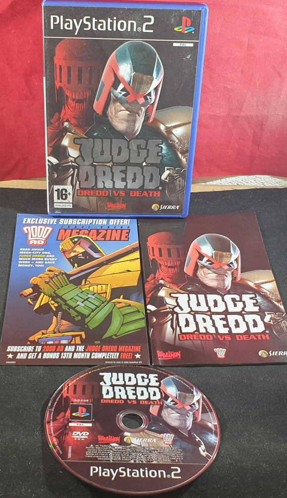 Judge Dredd: Dredd Vs Death Sony Playstation 2 (PS2) Game