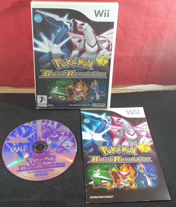 Pokemon Battle Revolution Nintendo Wii Game
