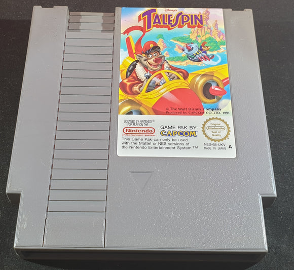 Disney's TaleSpin Cartridge Only Nintendo Entertainment System (NES) Game