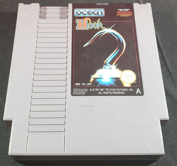 Hook Cartridge Only Nintendo Entertainment System (NES) Game