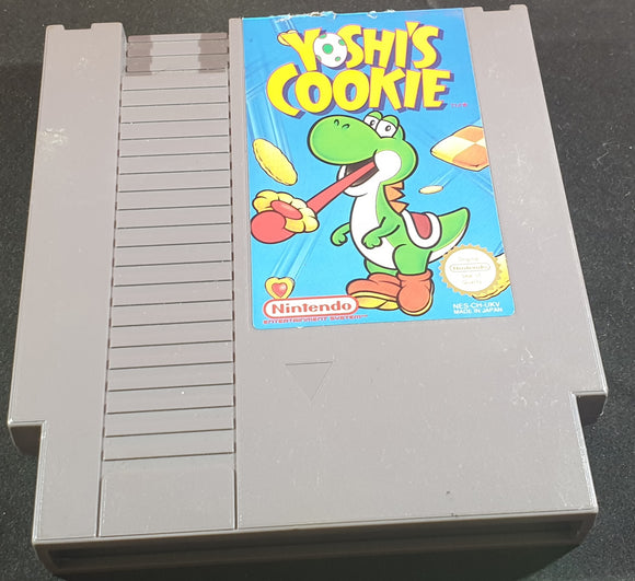 Yoshi's Cookie Cartridge Only Nintendo Entertainment System (NES) Game