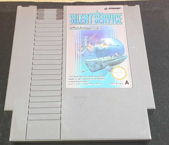 Silent Service Cartridge Only Nintendo Entertainment System (NES) Game