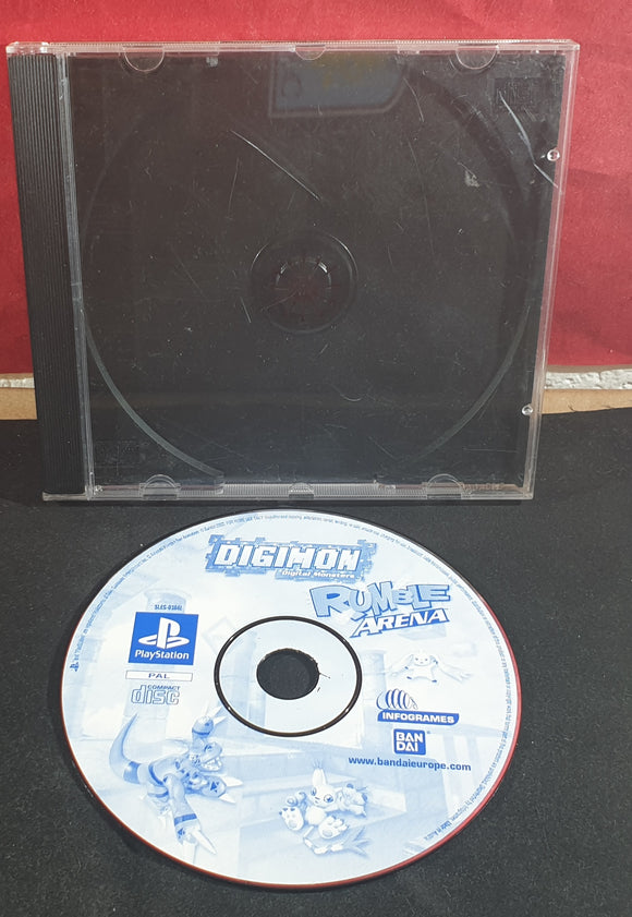 Digimon Rumble Arena Disc Only Sony Playstation 1 (PS1) Game