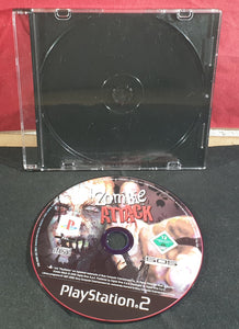 Zombie Attack Disc Only Sony Playstation 2 (PS2) Game