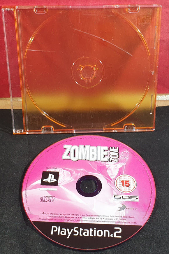 Zombie Zone Disc Only Sony Playstation 2 (PS2) Game