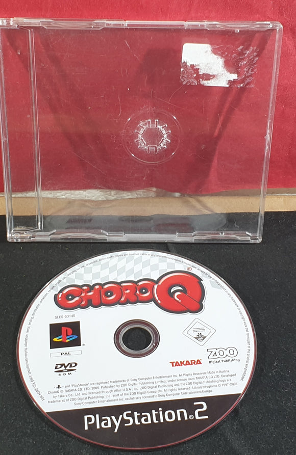 Choro Q Disc Only Sony Playstation 2 (PS2) Game