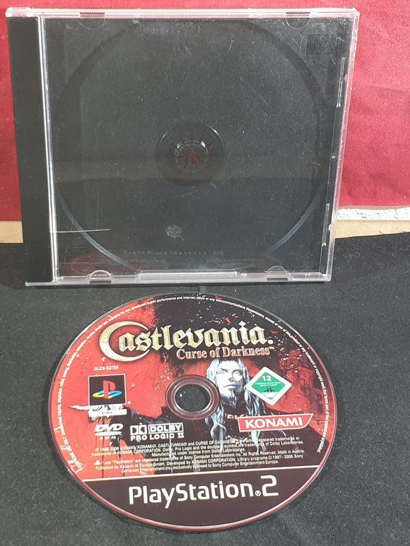 Castlevania Curse of Darkness Disc Only Sony Playstation 2 (PS2) Game