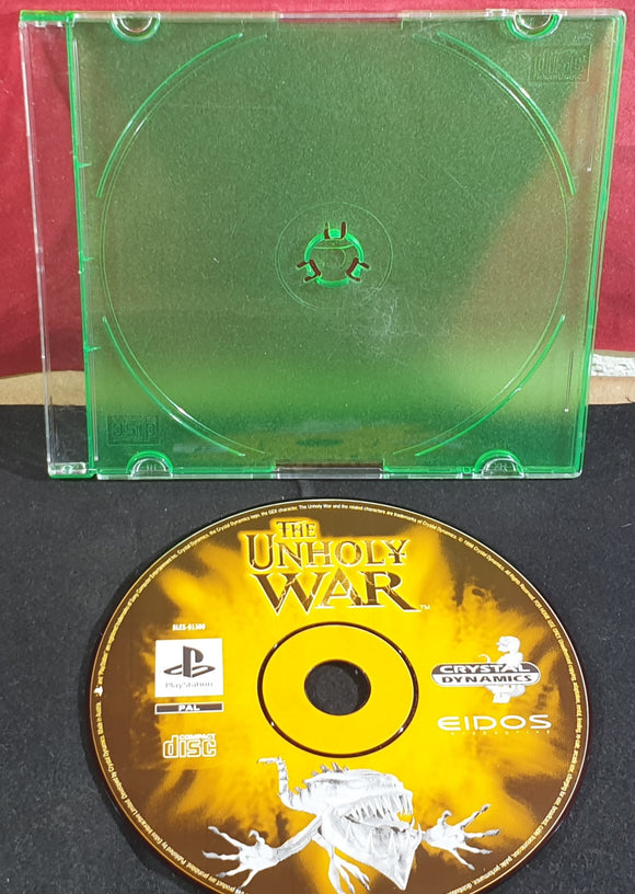 The Unholy War Disc Only Sony Playstation 1 (PS1) Game