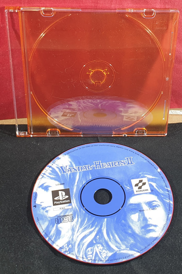 Vandal Hearts II Disc Only Sony Playstation 1 (PS1) Game