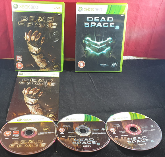 Dead Space 1 & 2 Microsoft Xbox 360 Game Bundle