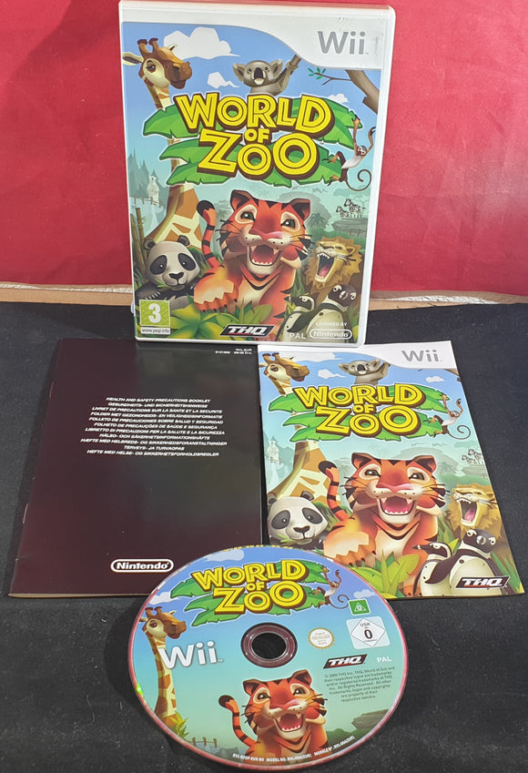 World of Zoo Nintendo Wii Game