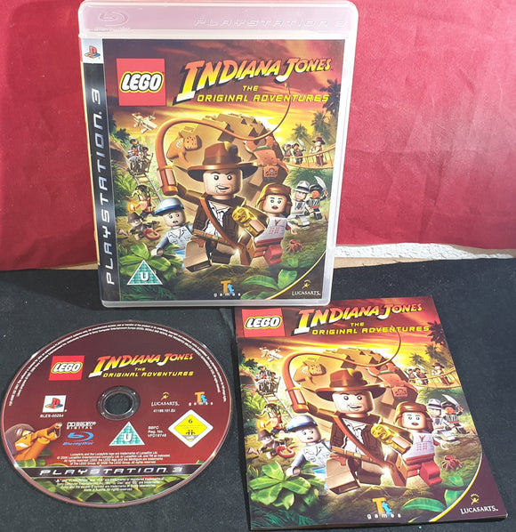 Lego Indiana Jones the Original Adventures Sony Playstation 3 (PS3) Game