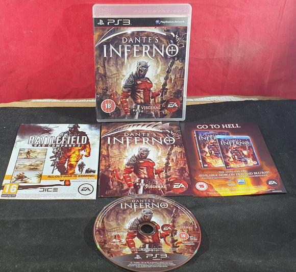 Dante's Inferno Sony Playstation 3 (PS3) Game