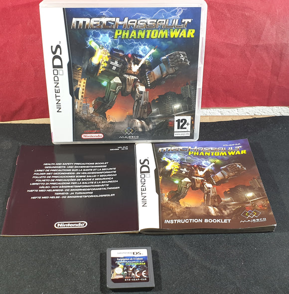 MechAssault Phantom War Nintendo DS Game