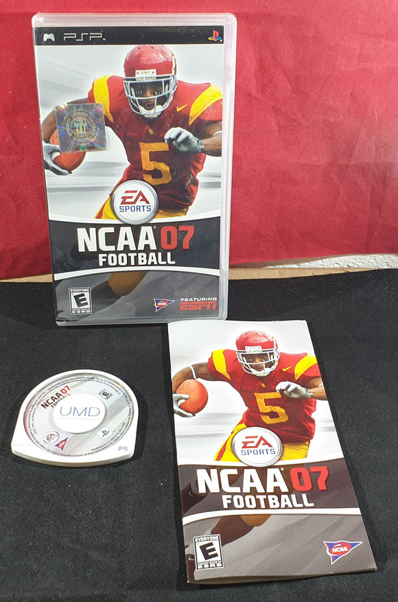 NCAA 07 Football Sony PSP Game
