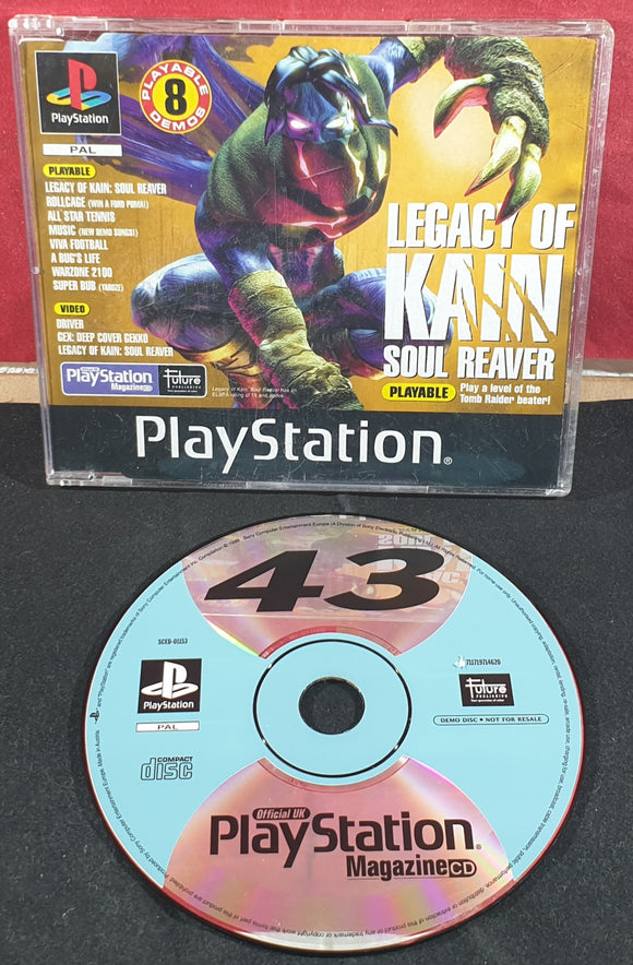 Sony Playstation 1 (PS1) Magazine Demo Disc 43