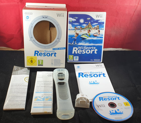 Wii Sports Resort with MotionPlus Nintendo Wii Game & Accessory