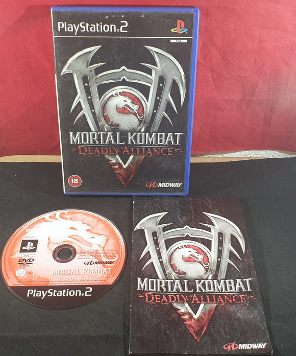 Mortal Kombat Deadly Alliance Sony Playstation 2 (PS2) Game