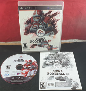 NCAA Football 12 Sony Playstation 3 (PS3) Game