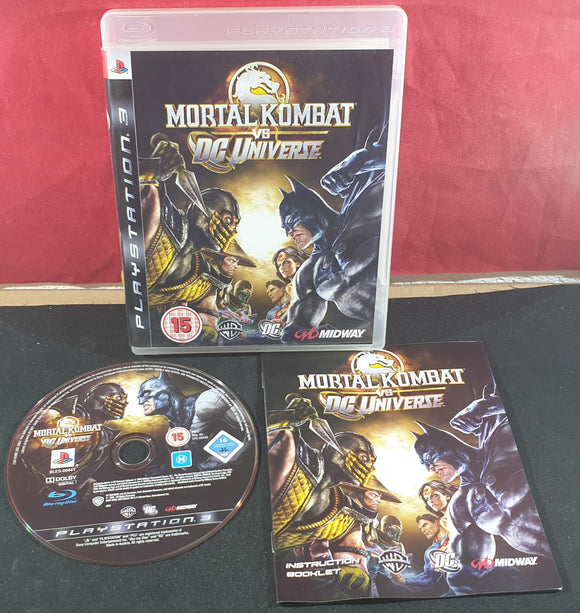 Mortal Kombat Vs DC Universe Sony Playstation 3 (PS3) Game