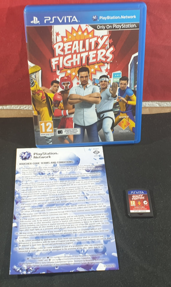 Reality Fighters PSVITA Game
