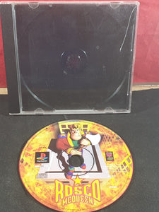 Rosco McQueen Sony Playstation 1 (PS1) Game Disc Only