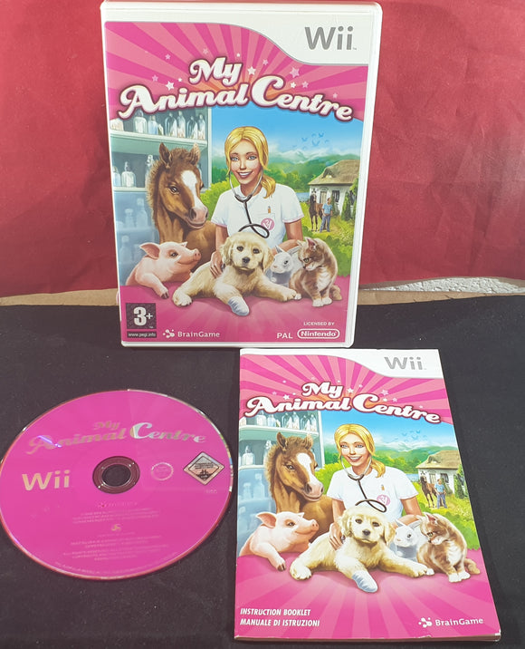 My Animal Centre Nintendo Wii Game