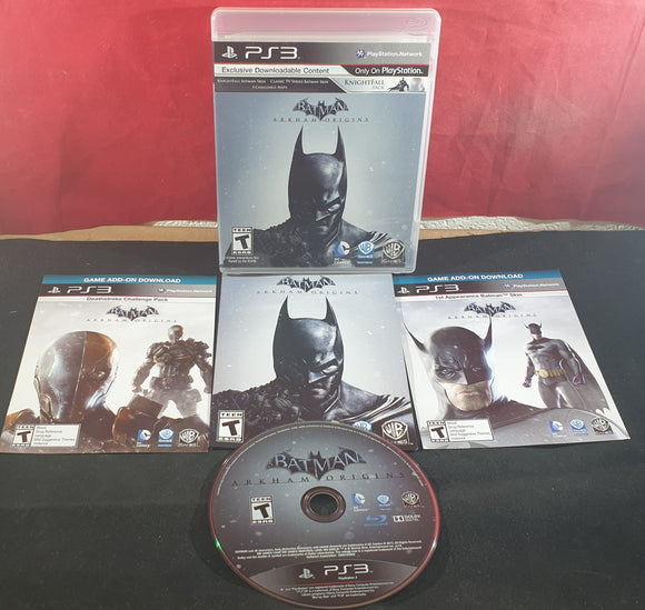 Batman Arkham Origins Sony Playstation 3 (PS3) Game