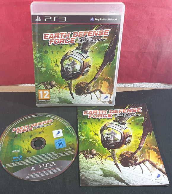 Earth Defense Force Insect Armageddon Sony Playstation 3 (PS3) Game