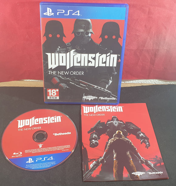 Wolfenstein the New Order Sony Playstation 4 (PS4) Game