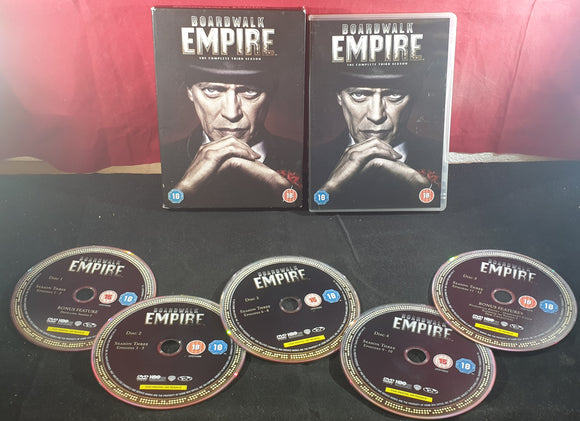Boardwalk Empire the Complete Third Season DVD