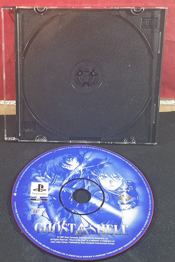 Ghost in a Shell Sony Playstation 1 (PS1) RARE Game Disc Only