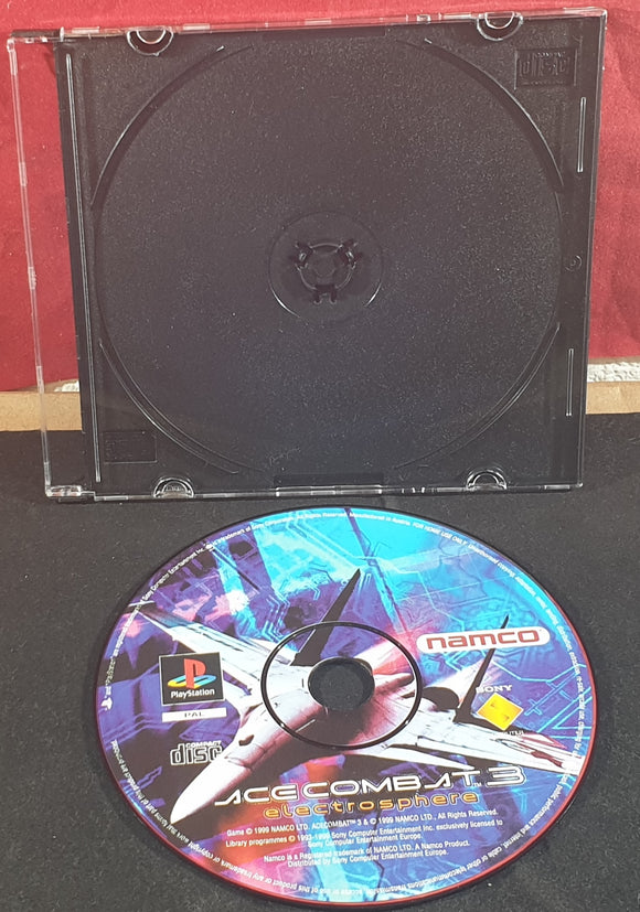 Ace Combat 3 Sony Playstation 1 (PS1) Game Disc Only