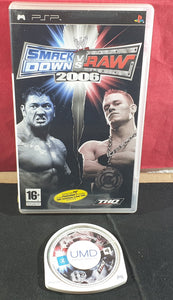WWE Smackdown Vs Raw 2006 Sony PSP Game