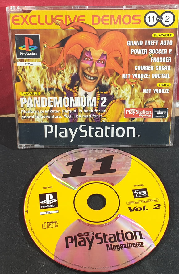 Sony Playstation 1 (PS1) Magazine Demo Disc 11 Vol 2