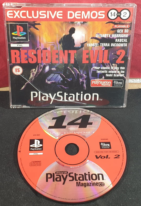 Sony Playstation 1 (PS1) Magazine Demo Disc 14 Vol 2