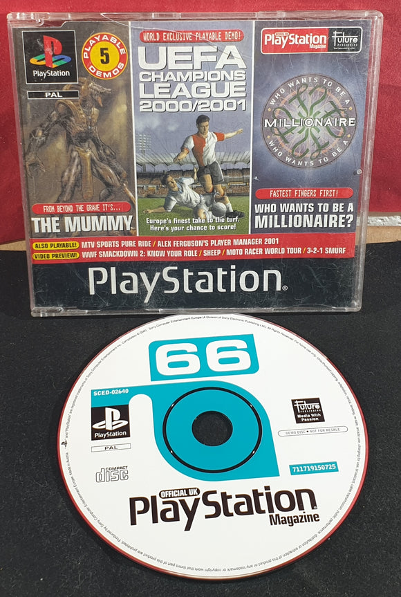 Sony Playstation 1 (PS1) Magazine Demo Disc 66